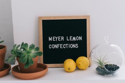 Meyer Lemon Confections